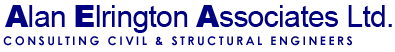 Alan Elrington Associates Ltd. Consulting Structural Engineers & Building Consultants