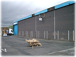 Structural Alteration of Factory in Gateshead